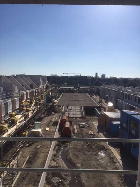 Project Irislaan Eindhoven 67 woningen